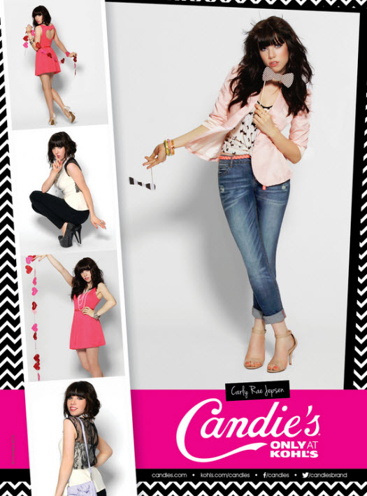 Carly Rae Jepsen Candies 2013