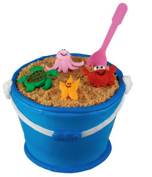 Sand Pail Cake from Baskin-Robbins