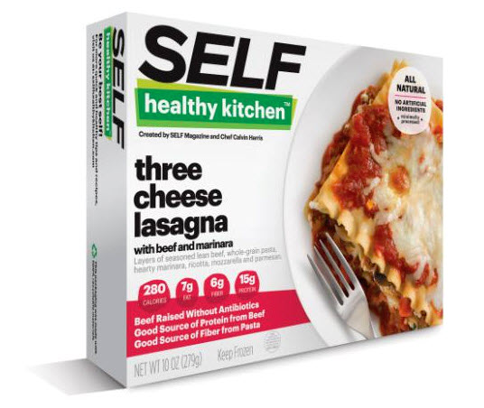 Self Healthy Kitchen Three Cheese Lasagna frozen meal