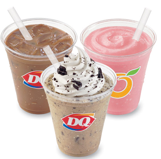 Dairy Queen Launches Iced Coffee Beverages and Frappes