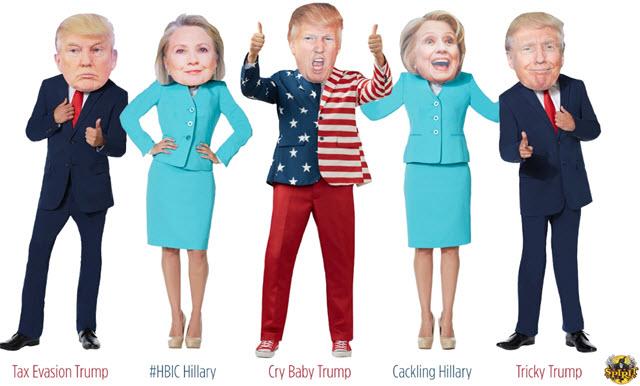 Donald Trump Winning Halloween Mask Sales Poll