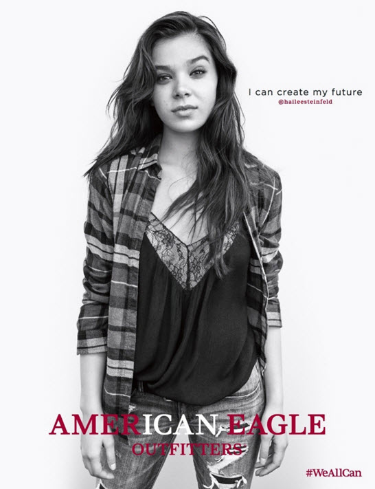 Hailee Steinfeld, Madison Pettis Among Stars of New American Eagle Campaigns