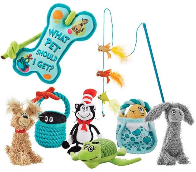 Petco Dr. Seuss Pet Fans Collection