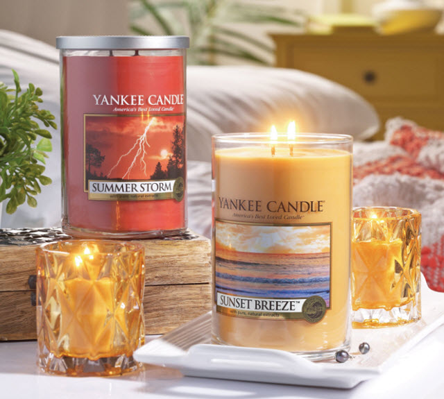 Yankee Candle's Summer 2016 Fragrances Include Summer Storm, Sunset Breeze and Moonlit Garden
