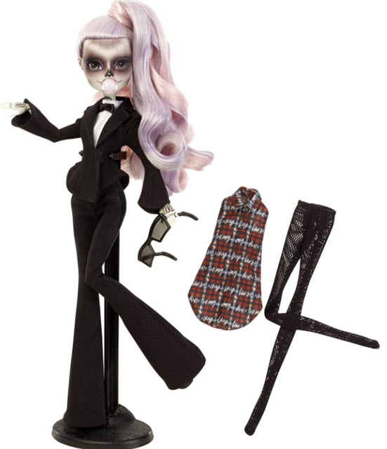 Monster High Launches Lady Gaga Doll Called Zomby Gaga