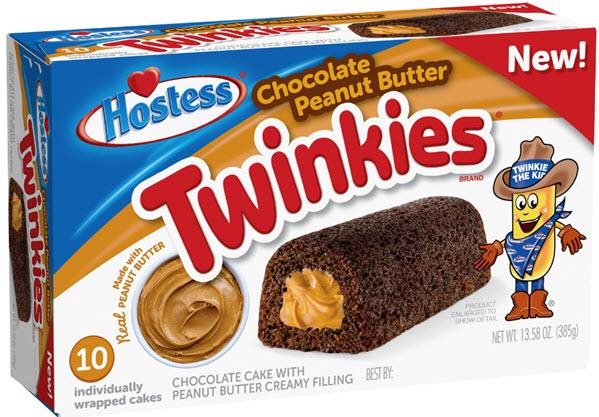 Chocolate Peanut Butter Twinkies