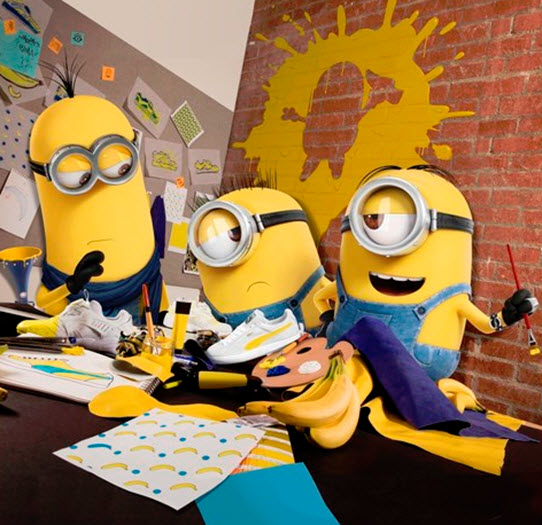 Minions to Help Design New Puma Collection